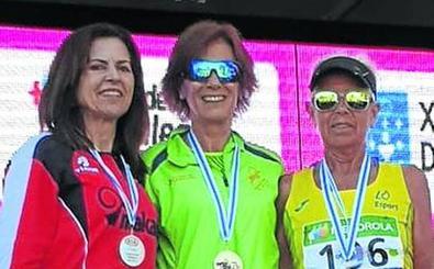Maru Hernáiz revalida su título nacional de media maratón
