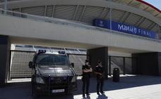 Madrid ante la Champions: 4.700 efectivos, un dron y límites al alcohol