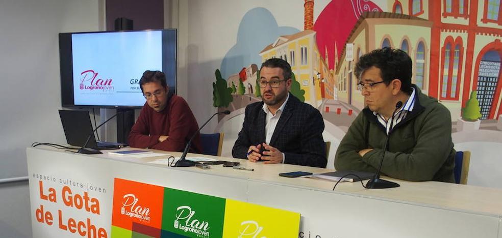 El I Plan Logroño Joven cuenta con 204 medidas centradas en empleo, vivienda y ocio