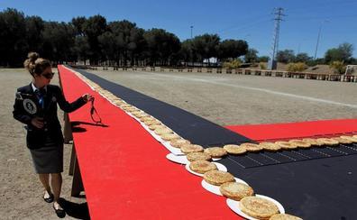 1.176 tortillas de Palacios para batir un record Guiness