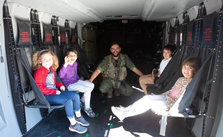 Logroño acoge la exposición de las Fuerzas Armadas