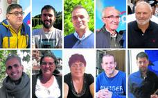 Diez alcaldes singulares
