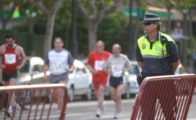 Afecciones al tráfico con motivo de la disputa de la media maratón