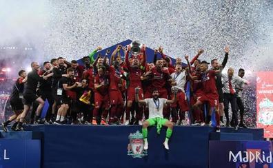 El Liverpool recupera el trono europeo con su versión más sólida