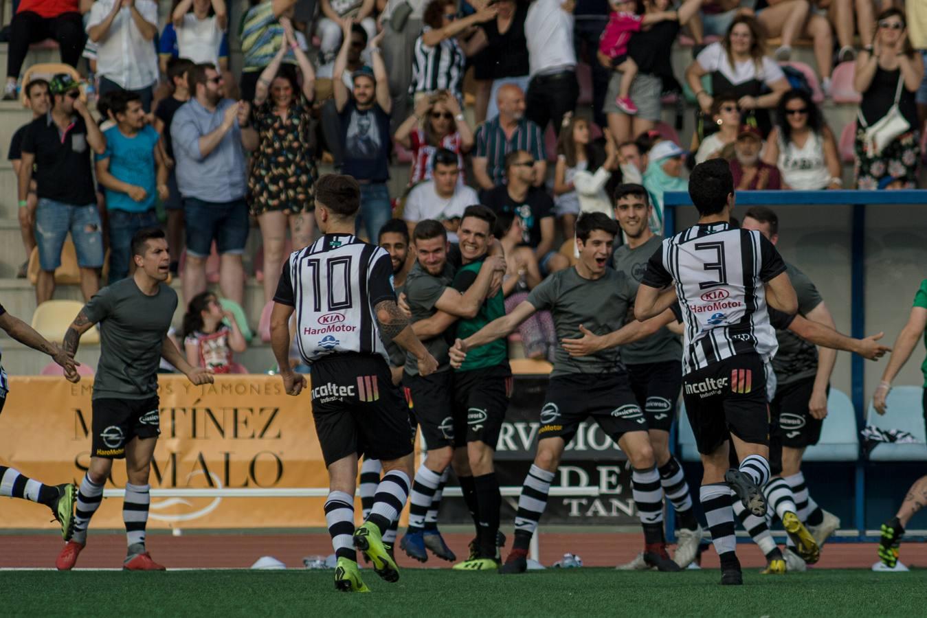 El gol del Haro-Zamora: en propia puerta para el ascenso