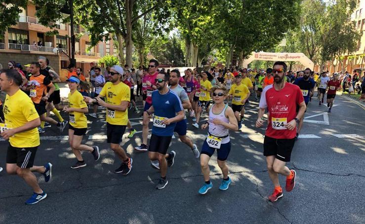 Los ganadores de la Media Maratón y el ambiente en la carrera