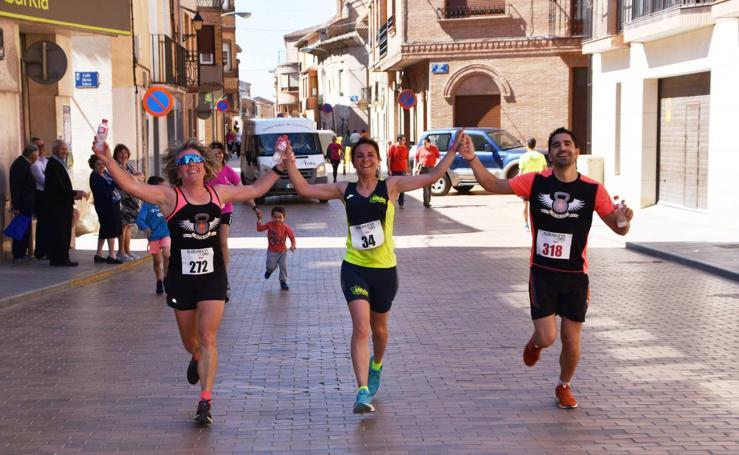 Juaniz y Arruti ganan la Runners & Wine de Aldeanueva de Ebro