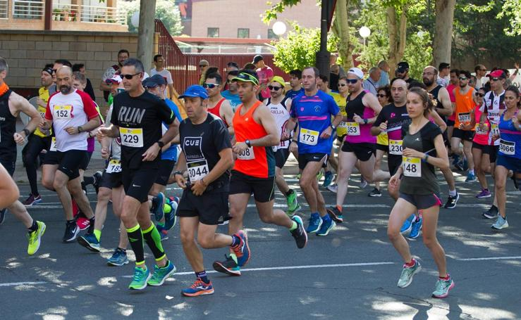 Las fotos de la Media Maratón: salida y recorrido