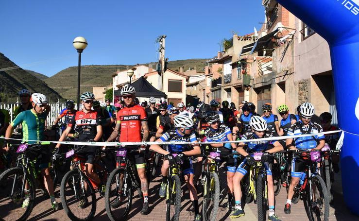 115 corredores y 102 cicloturistas en la IX Btt Castillo Cornago