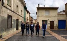 El Villar de Arnedo urbaniza sus calles