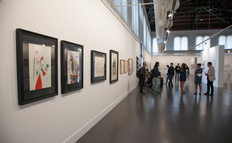 La Sala Amós Salvador expone 'De Picasso a Obey'