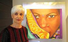 'La pakistaní' de Pilar Lozano, en Caja Rioja