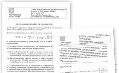 Profesores riojanos creen «inflada» la polémica de Matemáticas en la Ebau en Valencia