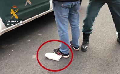 Detenido un vecino de Alfaro con medio kilo de speed oculto bajo su axila