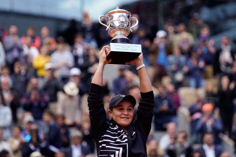 Barty es la nueva reina de Roland Garros