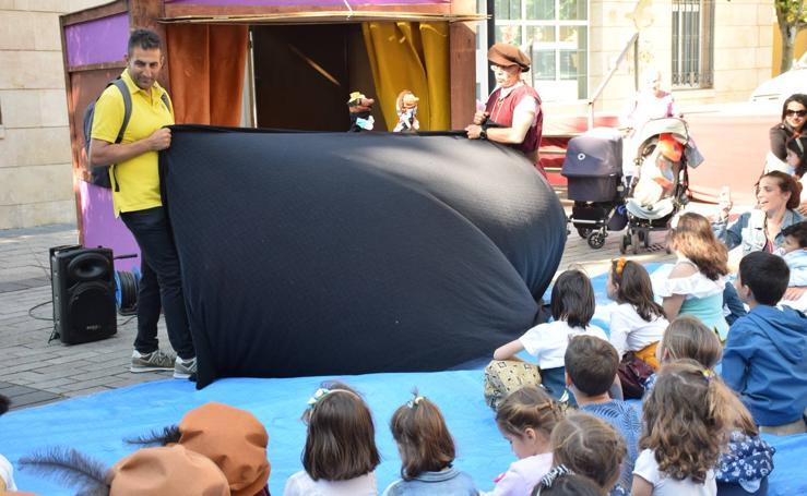 Marionetas y teatro infantil en Portales