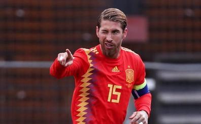 Ramos, sobre su récord: «Es un orgullo y te anima a seguir trabajando»