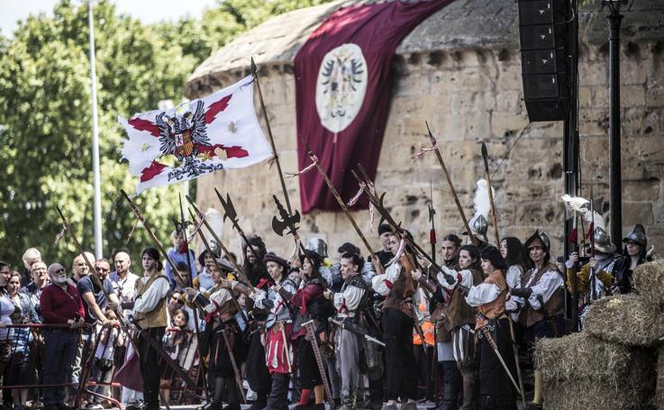 Recreación del asedio francés