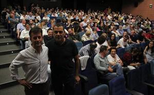 El documental 'El corazón del Ebro' llena la sala Florida