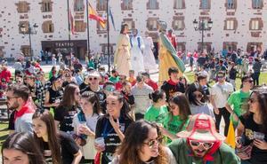 Ezcaray festeja a Santa Bárbara con mayúsculas