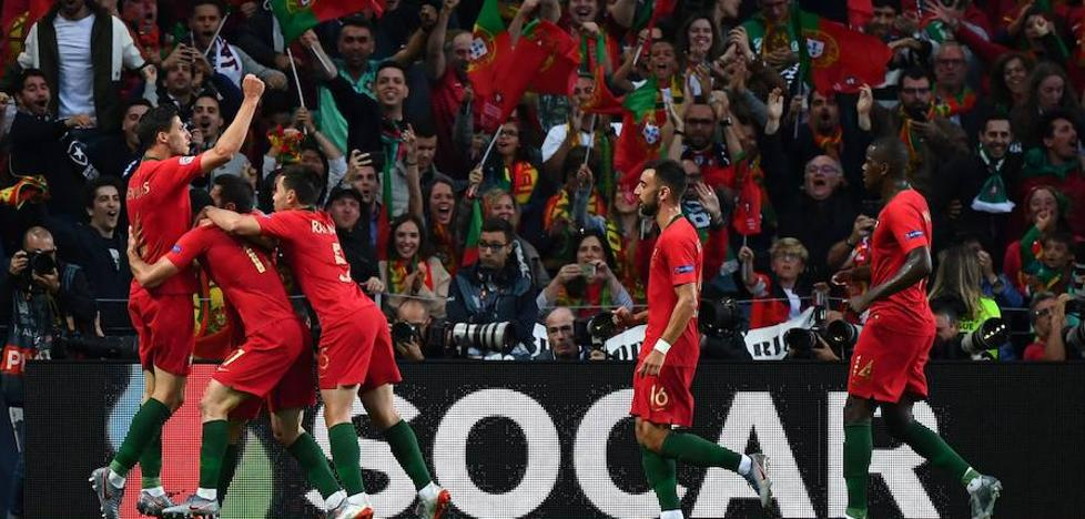 Portugal tira de oficio para conquistar la Liga de Naciones