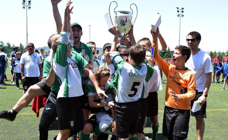 Torneo de fútbol alevín del Valvanera