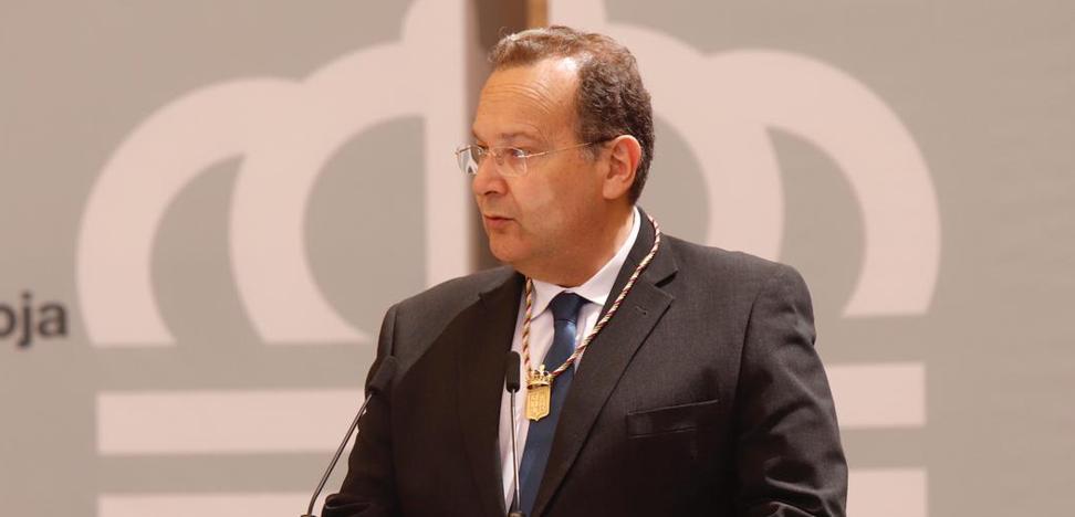 «Somos conscientes de la responsabilidad que supone para nuestra institución ser heraldos de La Rioja»