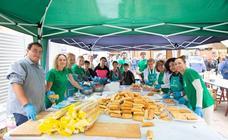 La Casa de Andalucía ofrece una degustación de bocatita de melva con pimientos