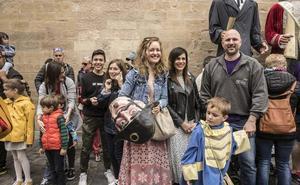 Al fin libre del francés, Logroño huele a paz y a pez