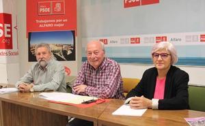 El PSOE reitera su invitación al PP para entrar en la junta de Gobierno de Alfaro