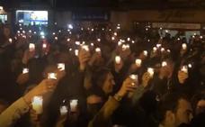 Ambientazo en Logroño anoche en el reparto de luminarias