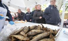 Reparto del pez y el pan en San Bernabé (I)