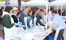 Reparto del pez y el pan en San Bernabé (II)