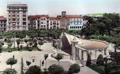 La Retina: vista antigua del Espolón de Logroño