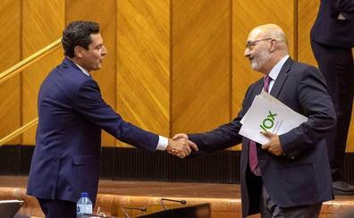 Vox apura hasta el final para salvar los presupuestos andaluces
