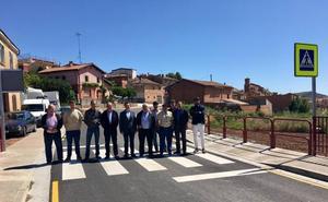 Completada la mejora de la carretera que da acceso a Hormilla