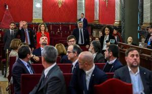 Los líderes del 'procés' presionan al tribunal con un alegato final de marcado acento político