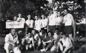 La Retina: militares y deportistas, en 1965