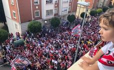 El ambiente en Logroño antes del partido UDL-Hércules