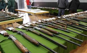 La sede de la Guardia Civil en Logroño acogerá una subasta de armas