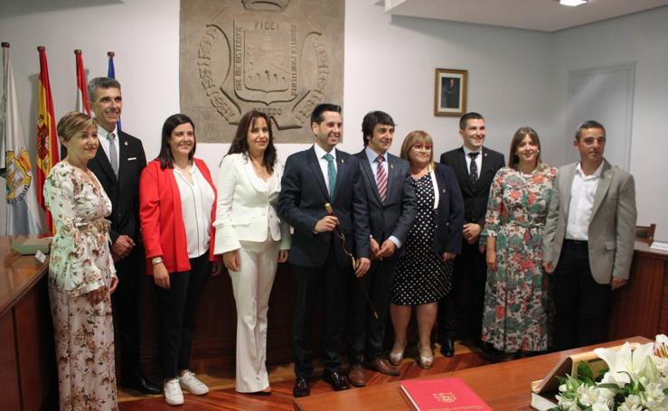 La constitución del Ayuntamiento de Arnedo