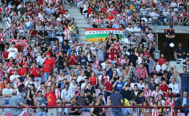 Más de 10.000 almas en Las Gaunas para el partido UDL-Hércules