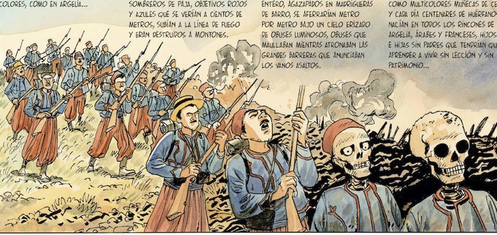 El cómic dibuja el Argel soñado por Albert Camus