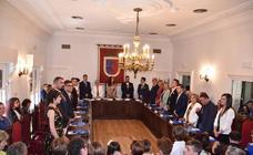 Las imágenes de la investidura de Elisa Garrido como alcaldesa de Calahorra