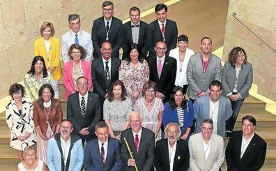 Hermoso de Mendoza inicia una nueva era municipal en Logroño