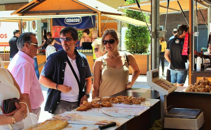 Feria de productos en Albelda