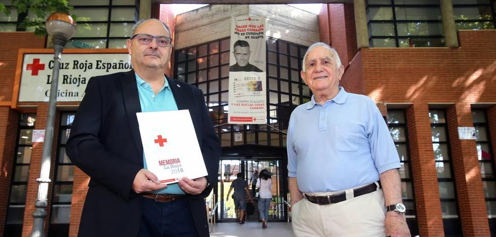 El 12% de la población riojana fue usuaria de Cruz Roja el pasado año