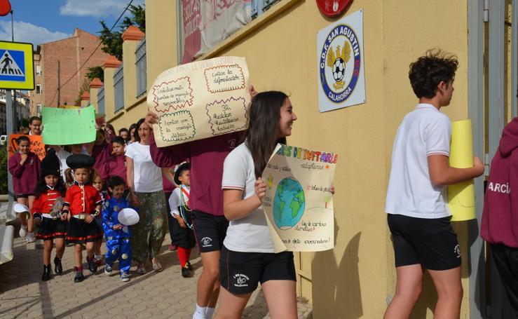 Los alumnos de Agustinos de Calahorra defienden el Medio Ambiente