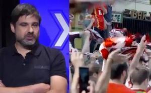 «El sábado se volvió a vivir el fútbol en Logroño»