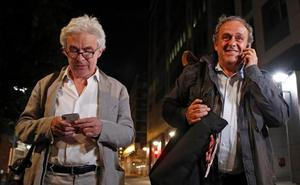 Platini, en libertad sin cargos tras 15 horas de interrogatorio